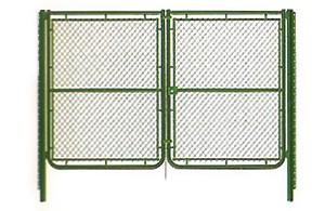 puerta-malla-st-2-hojas-plastificada-verde-con-cerradura